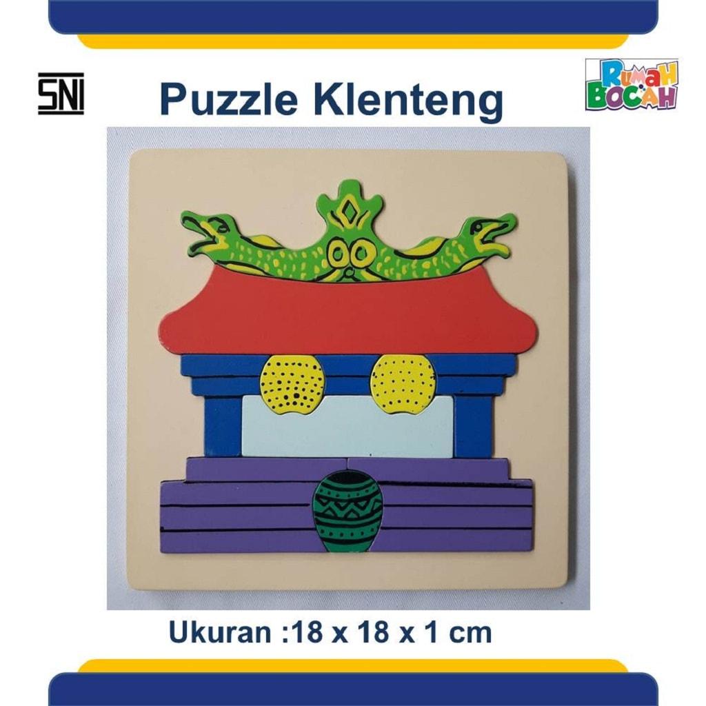 Jual Puzzle Anak Murah Rumah Ibadah Klenteng
