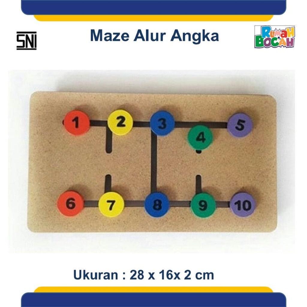 Toko Mainan Edukasi Anak Maze Alur Angka