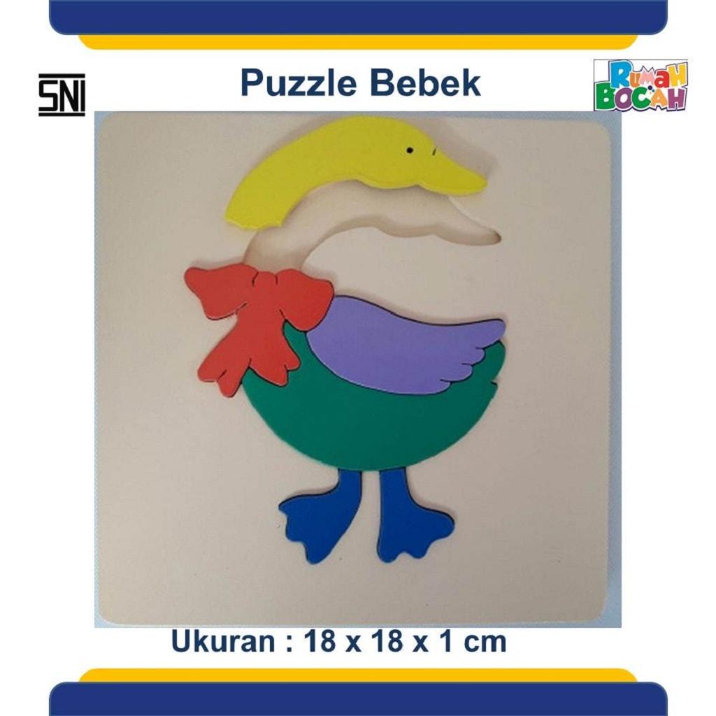 Jual Puzzle Hewan bebek Untuk Anak