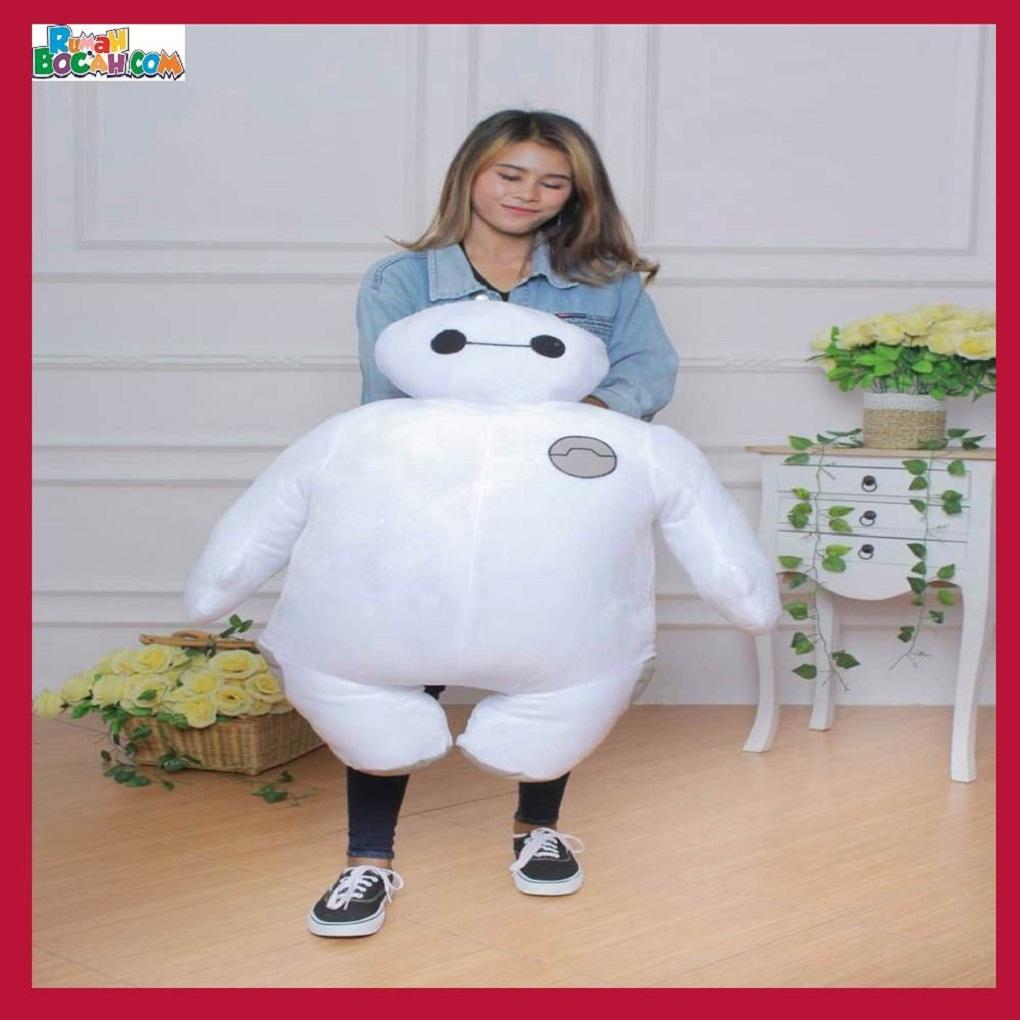 Mainan Kado Anak Laki Laki Perempuan Boneka Besar Jumbo Big Hero Baymax 90 cm-min