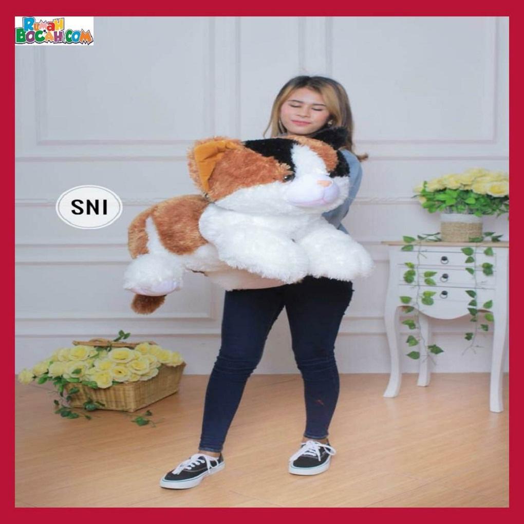 Mainan Kado Anak Remaja Perempuan Boneka Besar Jumbo Hewan Kucing Esmeralda-min (1)