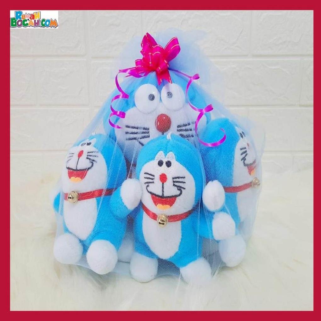 Mainan Kado Anak Remaja Sahabat Pacar Perempuan laki Laki Boneka Kucing Doraemon Beranak-min