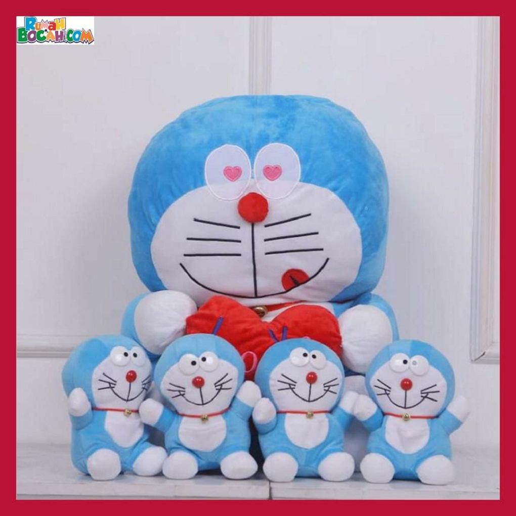 Mainan Kado Anak Remaja Sahabat Pacar Perempuan Cewek Boneka Jumbo Besar Kucing Doraemon Beranak-min
