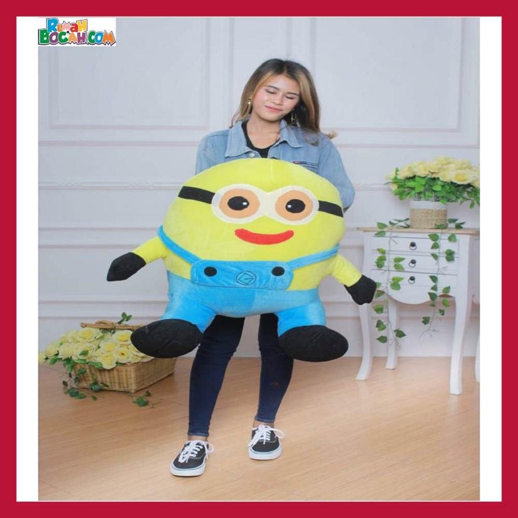 Mainan Kado Anak Remaja Sahabat Pacar Perempuan laki Laki Boneka Jumbo Besar Karakter Minion-min