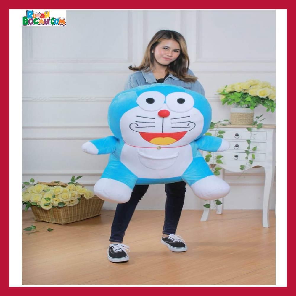 Mainan Kado Ulang Tahun Anak Sahabat Pacar Remaja Perempuan Cewek Boneka Jumbo Besar Doraemon Boa