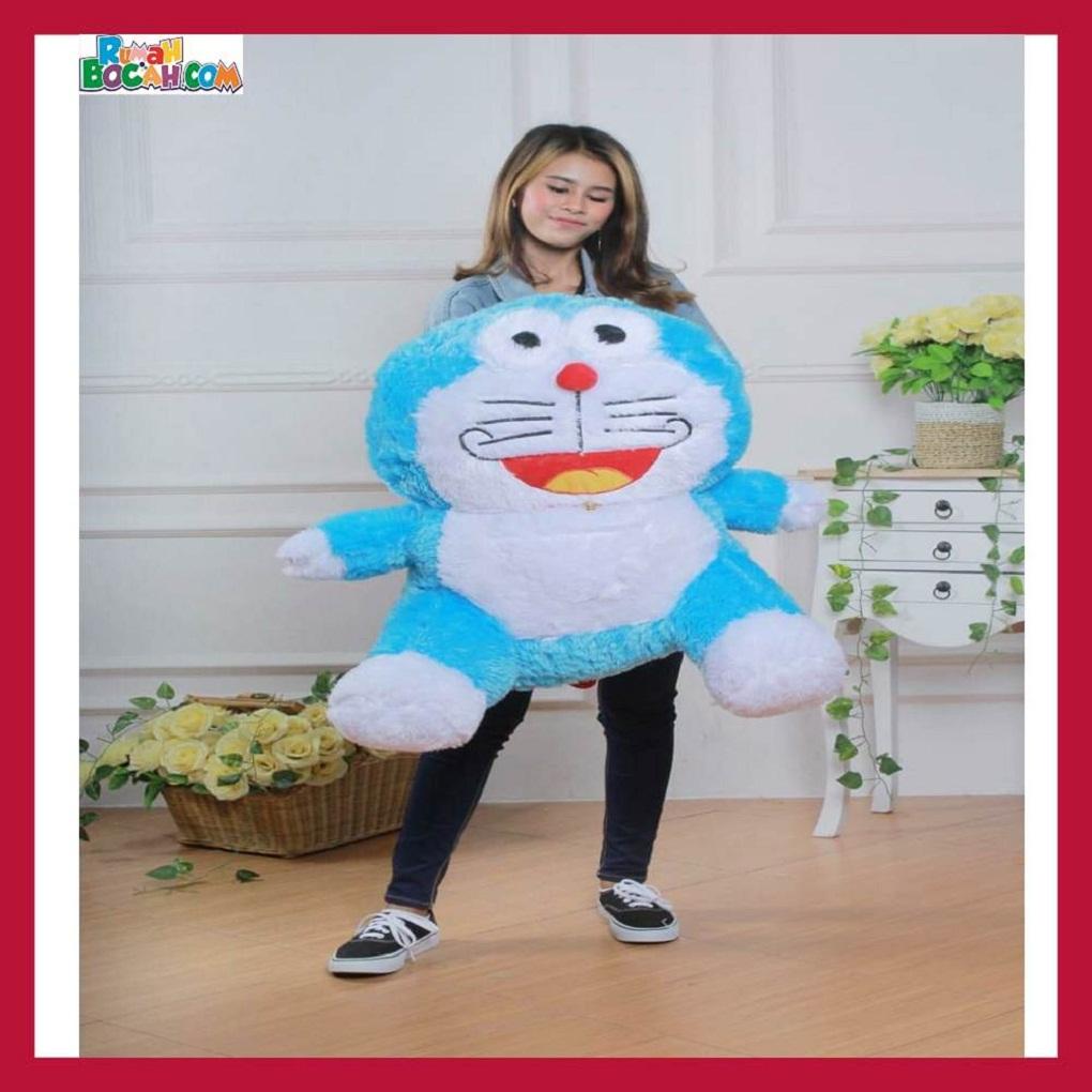 Mainan Kado Ulang Tahun Anak Sahabat Pacar Remaja Perempuan Cewek Boneka Jumbo Besar Doraemon Rasfur JB-min (1)